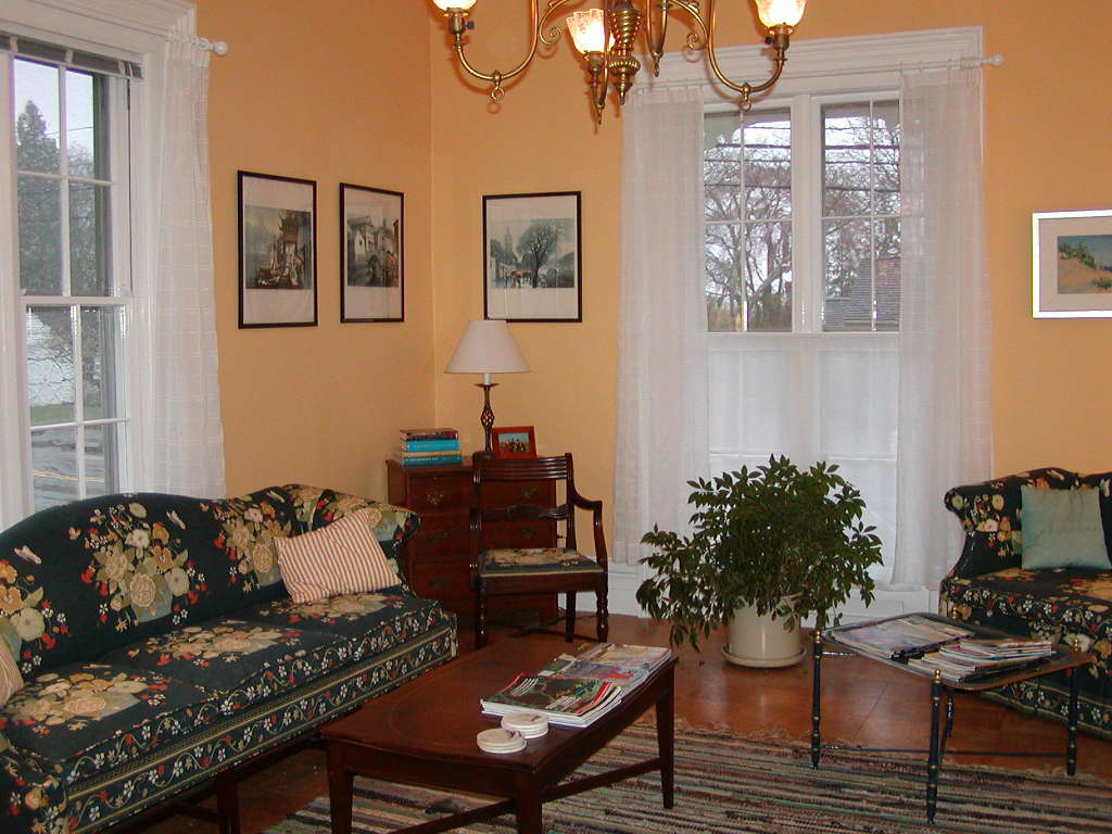 Living Room - Front Parlor